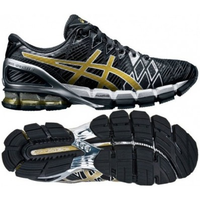 asics gel kinsei 5 noir or