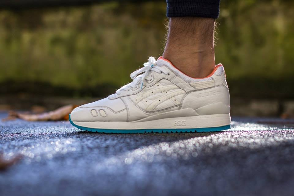 asics get lyte 3 homme blanche