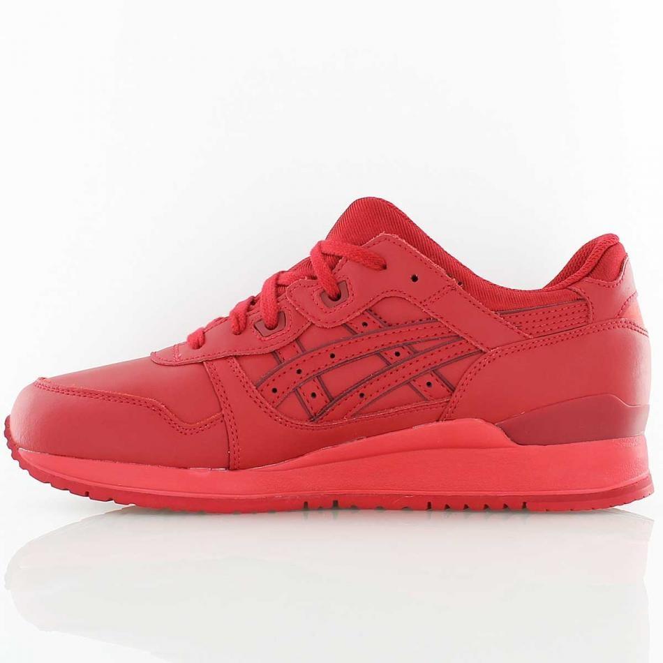 chaussures de séparation 8f084 4295a 3 Asic Lyte Gel Rouge Et Bleu Femme lFKTJc31