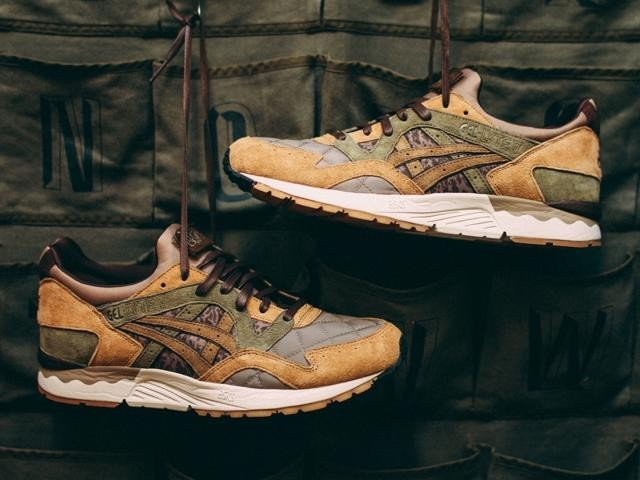 asics gel marron