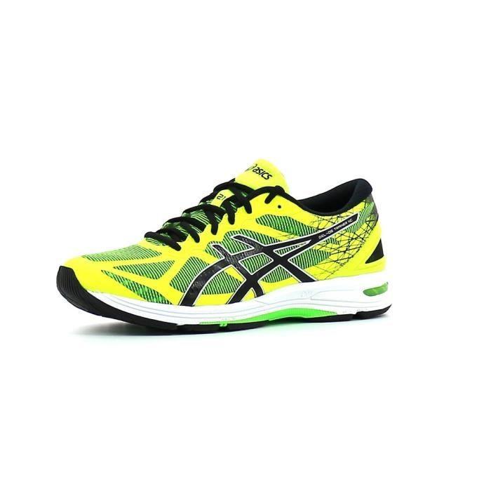 jaune running hommes asics