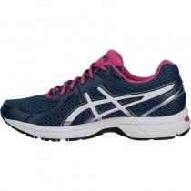 chaussures running femme asics gel stormhawk bleu rose asics