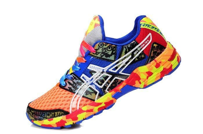 asics homme multicolor